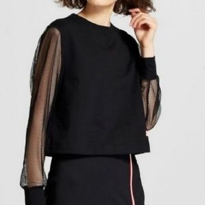 HUNTER Top Mesh Sleeve Large For Target